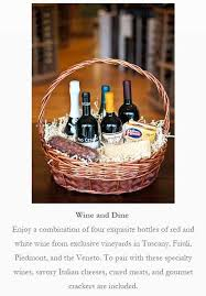 wine baskets free shipping gift baskets gasbarro s wines