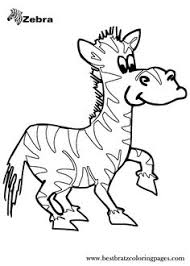 animal coloring pages kids zebra drawings coloring sheets