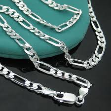 wholesale jewelry necklace chains images Wholesale fashion silver jewelry necklace chain men 39 s 925 jewelry jpg