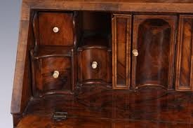 dressing bureau an early 18th century and later burr walnut dressing table mirror