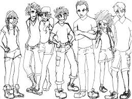 percy jackson heroes of olympus by ratatatta on deviantart