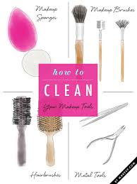 out of my closet clean your makeup tools