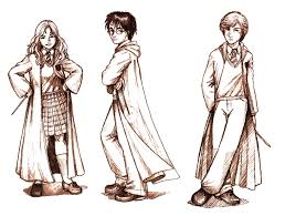 harry potter bookmark drawings aycelcus deviantart