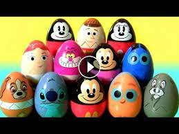 minnie mouse easter egg disney easter eggs toys for kids stitch tr woody