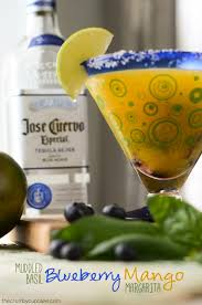 jose cuervo mango muddled basil blueberry mango the crumby kitchen