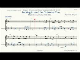 Rockin Around The Christmas Tree Notes For Clarinet