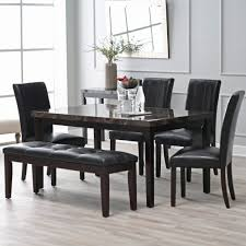 winning modern dining table chairs set for round glass kitchen