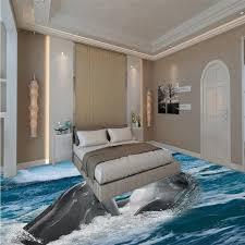 chambre gratuite livraison gratuite jeu dauphin 3d plancher papier peint chambre
