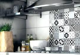 cuisine credence carrelage sticker pour credence de cuisine amazing stickers pour
