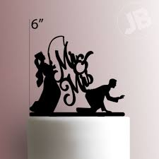 mrs and mrs cake topper mr mrs cake topper 110
