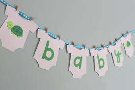 baby shower banners diy thebridgesummit co
