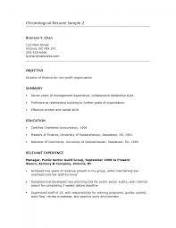 simple resume sample doc cover letter sample chronological resume sample chronological cover letter basic resume objective traditional samples sampl non chronological example xsample chronological resume large size