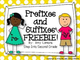 prefixes and suffixes freebie by amy lemons teachers pay teachers