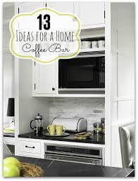 remodelaholic 13 ideas for a home coffee bar