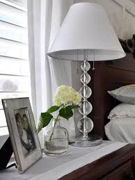 Luxury Bedroom Ceiling Design White Table Lamp On Bedside Dark by Bedroom Ceiling Lights Hgtv