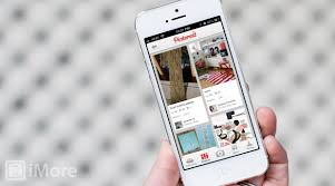 pinterest for iphone and ipad updated with push notifications for