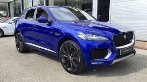 jaguar f pace black used jaguar f pace 3 0d v6 1st edition 5dr auto awd diesel estate
