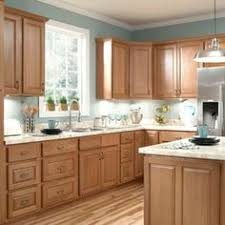 kitchen lovely maple kitchen cabinets and blue wall color gray