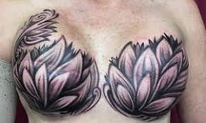 the tattoos that turn breast cancer surgery scars into works of