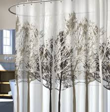 appealing small bathroom design ideas shower curtains curtain for modern stonewashed belgian linen showertain from restoration eco friendly style tree motif print escorted the