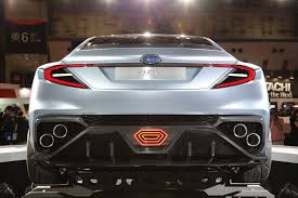 subaru supercar subaru wrx sti hybrid is highly likely automobile magazine