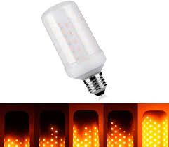 why led light bulbs flicker led burning light flicker flame light bulb fire effect bulb led