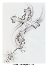 cross tattoo sketches 5