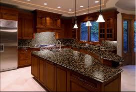 Beautiful Backsplashes Marble  Granite - Baltic brown backsplash