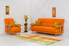 Large Orange Rug Living Room Modern Orange Living Room Schemes With Large Led Tv