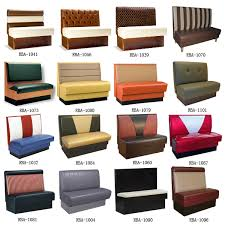 Modern Restaurant Furniture by 1091 Modern Restaurant Dining Booth Wooden Single Booth Sofa Booth