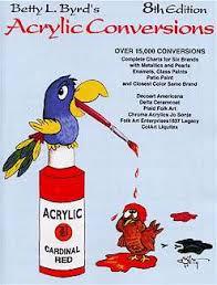 betty l byrd u0027s 8th edition acrylic conversions