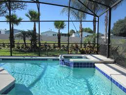 Vacation Mansions For Rent In Atlanta Ga F514 Villa With South Facing Pool And Spa On Gated Community