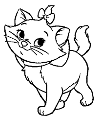 aristocats beautiful marie coloring pages bulk color