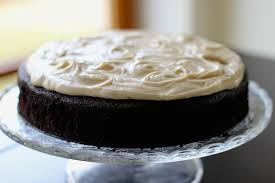 guinness chocolate cake with brown butter cream cheese icing