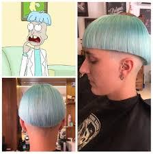 doofus rick haircut rickandmorty