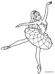 Ballet Coloring Pages Getcoloringpages Com Ballerina Printable Coloring Pages