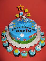 mario cake mario cake with cupcakes