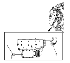 repair instructions on vehicle input speed sensor replacement