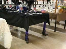 witch boot halloween decorations bubblegum and duct tape halloween tablescape
