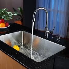 kitchen sink faucet combo stainless faucet ideas