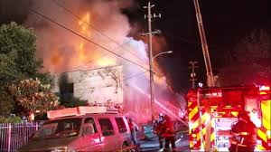 Fire Evacuations Libby Mt by At Least 10 Dead Dozens Missing After Oakland Warehouse Fire