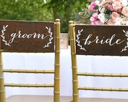 and groom chair signs groom chair signs and groom signs rustic