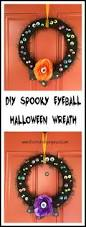 spooky eyeball halloween wreath life creatively organized