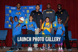 Harrison Barnes Draft Class Warriors Host Rookie Reading Rally Presented By Ross Stores The