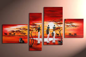 modern paintings on canvas abstract painting set12049