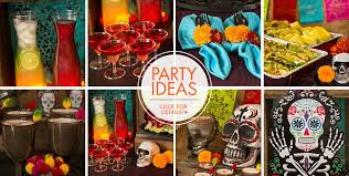 Day of the Dead Party Supplies Dia de los Muertos