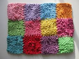 How To Make A Rag Rug From T Shirts Best 25 Tee Shirt Rug Ideas On Pinterest Hula Hoop Rug Hula