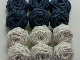 burlap flowers navy blue burlap flowers navy blue burlap roses oyster