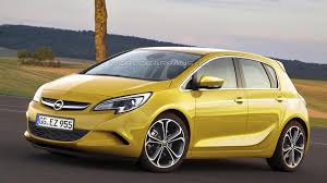 opel yellow 2013 opel corsa facelift spied next gen rendered