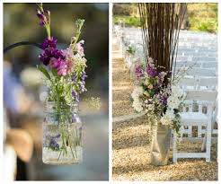 Lavender Decor Teal Lavender And Blush Rustic Florida Wedding Aisle Society